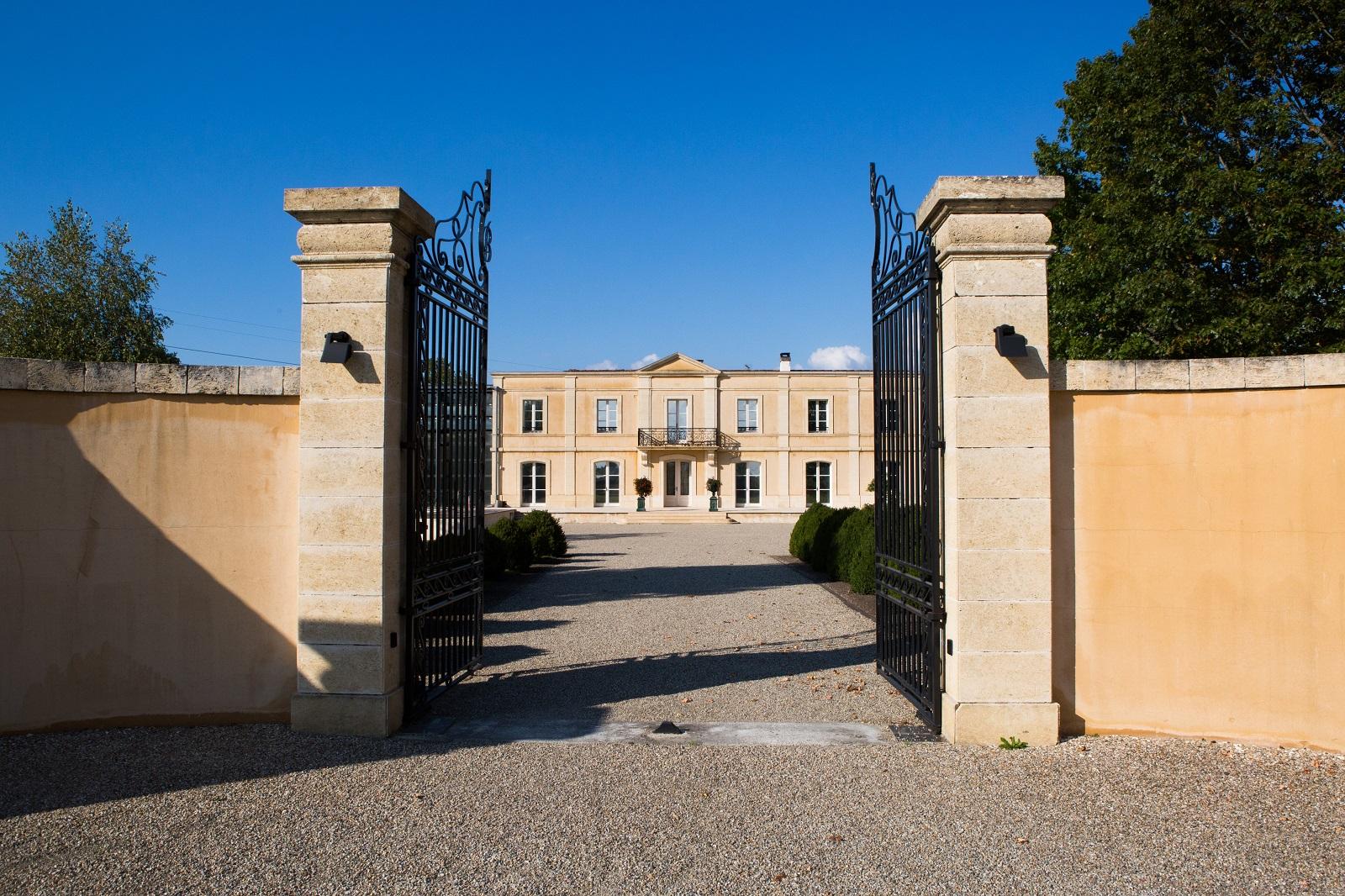 Entrée du Château Bertinerie