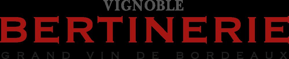 Logo Vignobles Château Bertinerie Grand Vin de Bordeaux